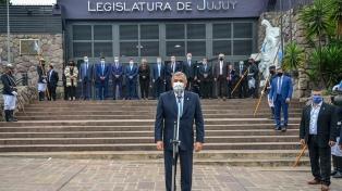 """Morales abrió las sesiones legislativas y afirmó que """"la transformación de Jujuy está en marcha"""""""