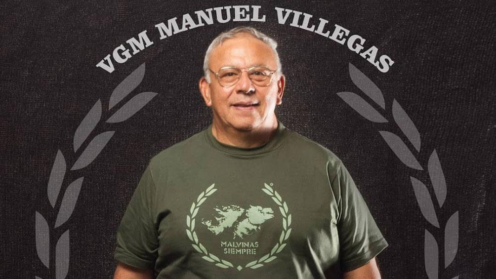 Manuel Villegas (sargento VGM - RI 3) - Foto: gentileza Malvinas Siempre.