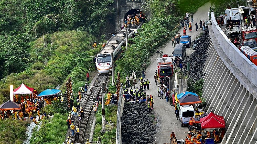 Las víctimas viajaban en los últimos cuatro vagones