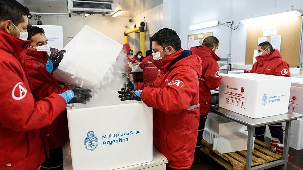 Durante el mes de marzo, Argentina recibió la mayor cantidad de dosis  desde el comienzo de la pandemia