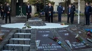 Mar del Plata: acto en el monumento a los caídos en Malvinas