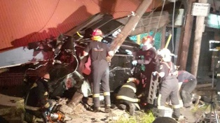 Cómo fue el choque en el que murieron dos hermanas que iban en un Audi