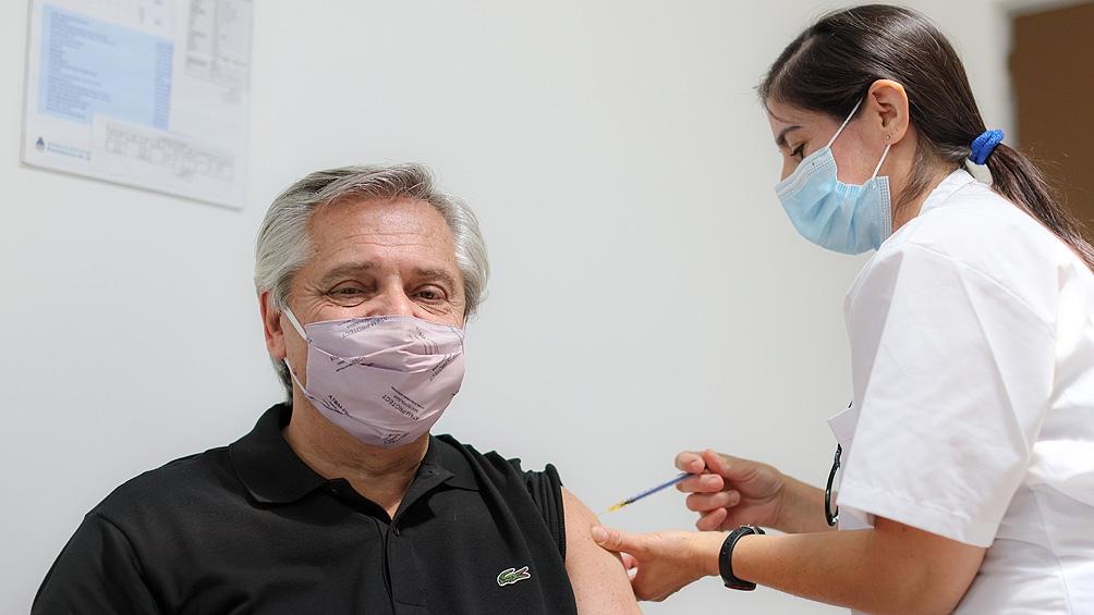 Fernández dio positivo para coronavirus