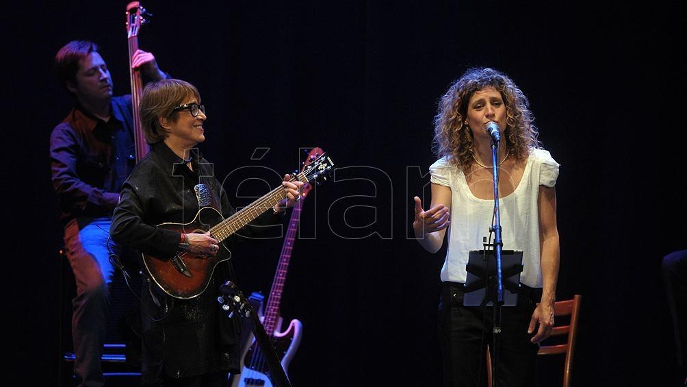 """El concierto """"Juntas"""" será emitido este domingo a las 22.30 por la TV Pública"""