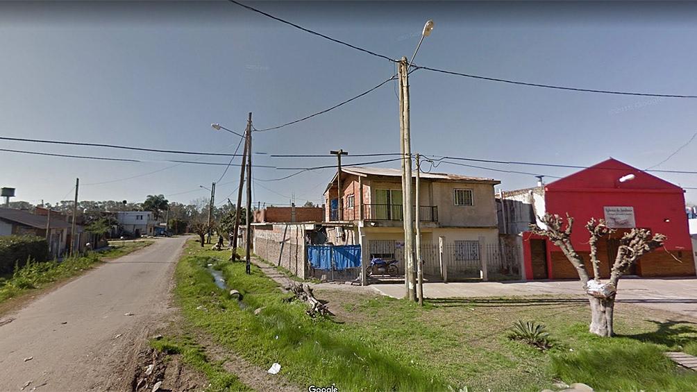 Larreta y El Gorrión, el lugar donde tuvo lugar el crimen.