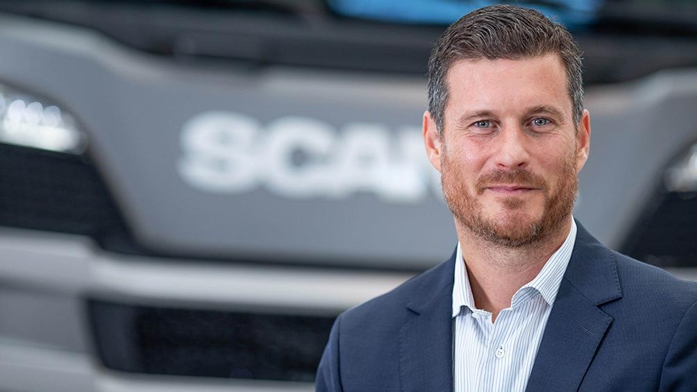 Andrés Leonard es el director ejecutivo de la empresa automotriz Scania desde 2018.