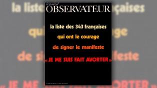 A 50 años del manifiesto 343 que dio pie a la legalización del aborto en Francia