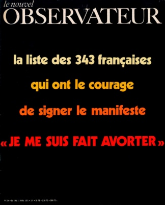 La ya mítica tapa de Le Novuel Observateur.