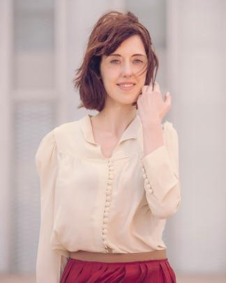 """Vallejo es autora de novelas como """"La luz sepultada"""". Foto: gentileza Jorge Fuembuena."""