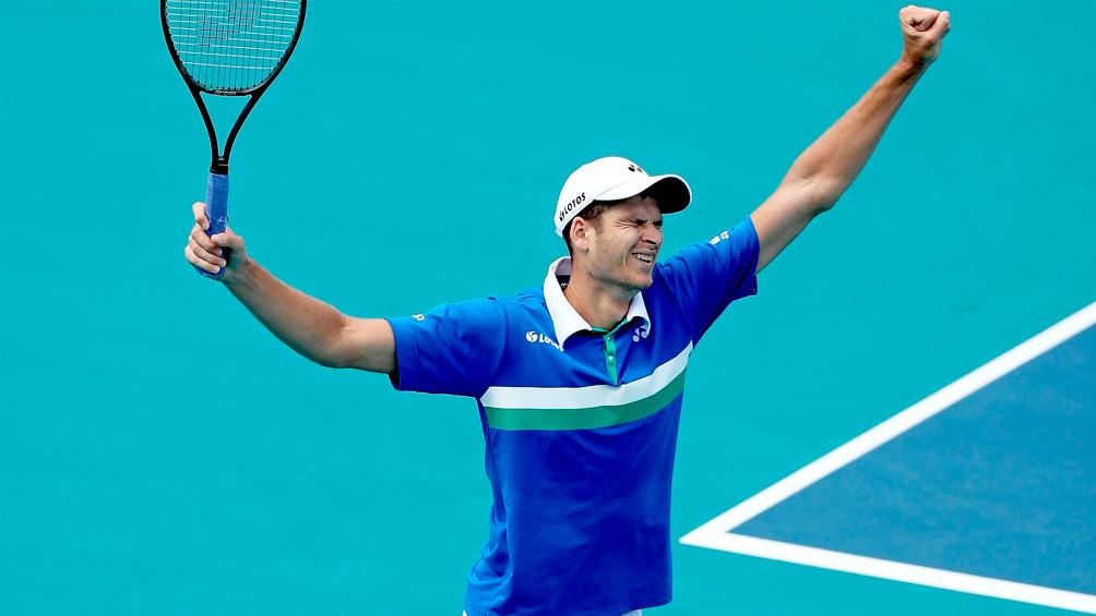 Hurkacz escaló 21 posiciones tras el batacazo en el Masters 1000 de Miami