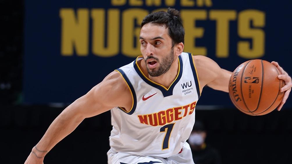 Campazzo aportó siete puntos en el triunfo de Denver Nuggets sobre Houston Rockets