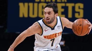 Los Nuggets de Campazzo enfrentarán a Portland en los playoffs