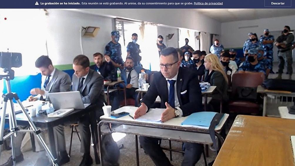 Los alegatos se realizaron este lunes en la sede de la Jefatura Departamental La Matanza.