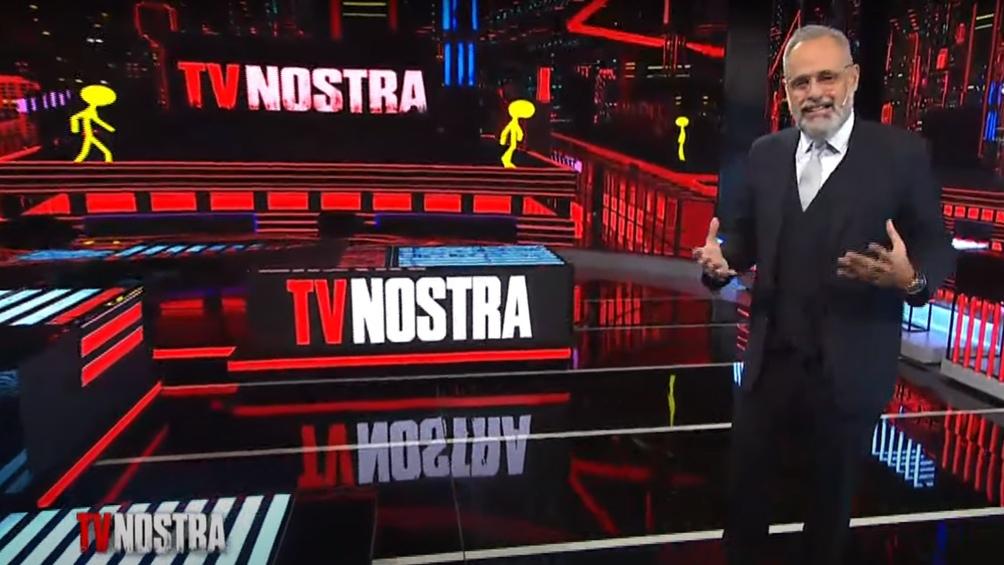 "TV Nostra fue su primer gran proyecto luego de conducir por casi dos décadas ""Intrusos""."