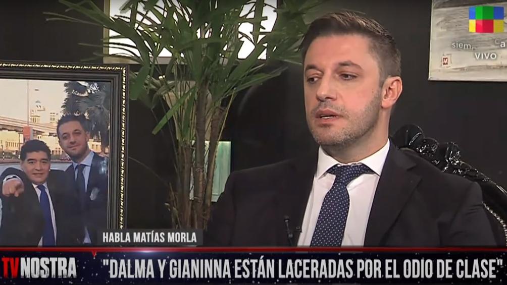 El abogado Matías Morla aseguró que Maradona