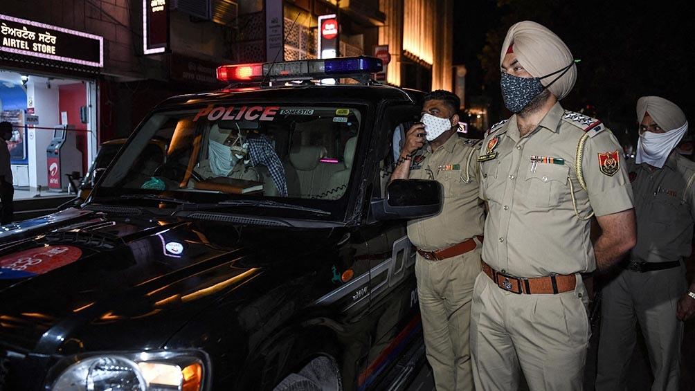 Nueva Delhi registró 3.548 nuevos casos en las últimas 24 horas (AFP)