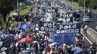 Cortes de calles y protestas: para Frederic, el gobierno porteño es responsable del control