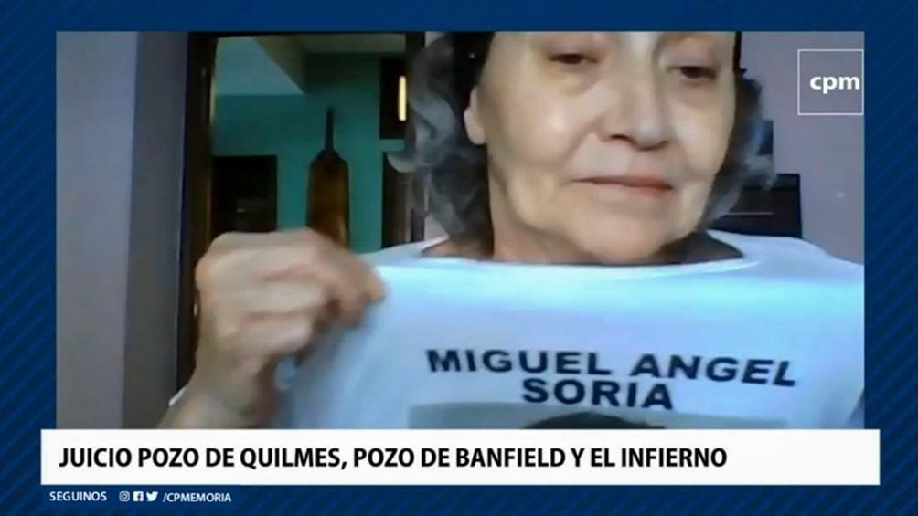 """La hermana del trabajador de Astillero Río Santiago dio testimonio y lamentó: """"Llevamos 45 años tratando de sanar heridas, que no sanan nunca, quedan secuelas."""