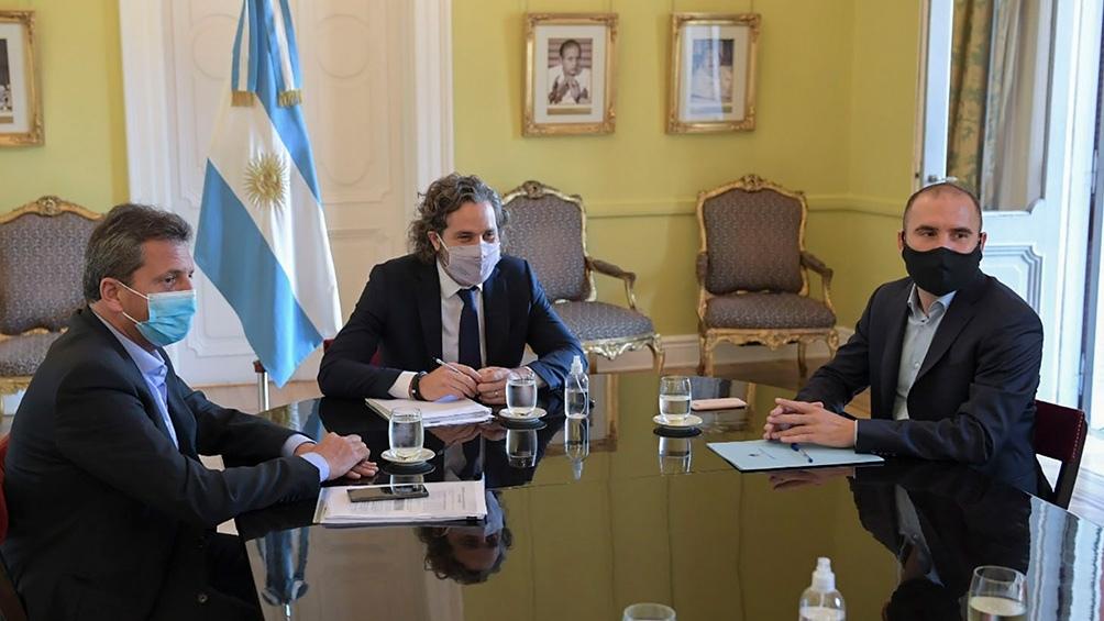 La decisión fue adoptada en una reunión de gabinete económico que encabezó el jefe de ministros, Santiago Cafiero.
