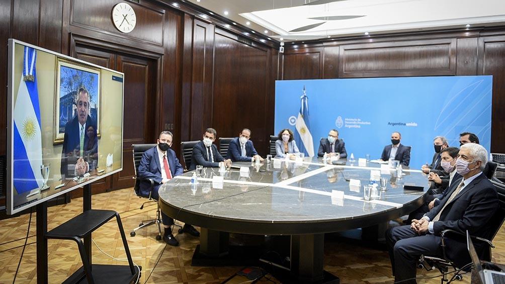 El Gobierno nacional presentó ante dirigentes empresariales el Nuevo Régimen de Fomento de Inversiones para las Exportacione