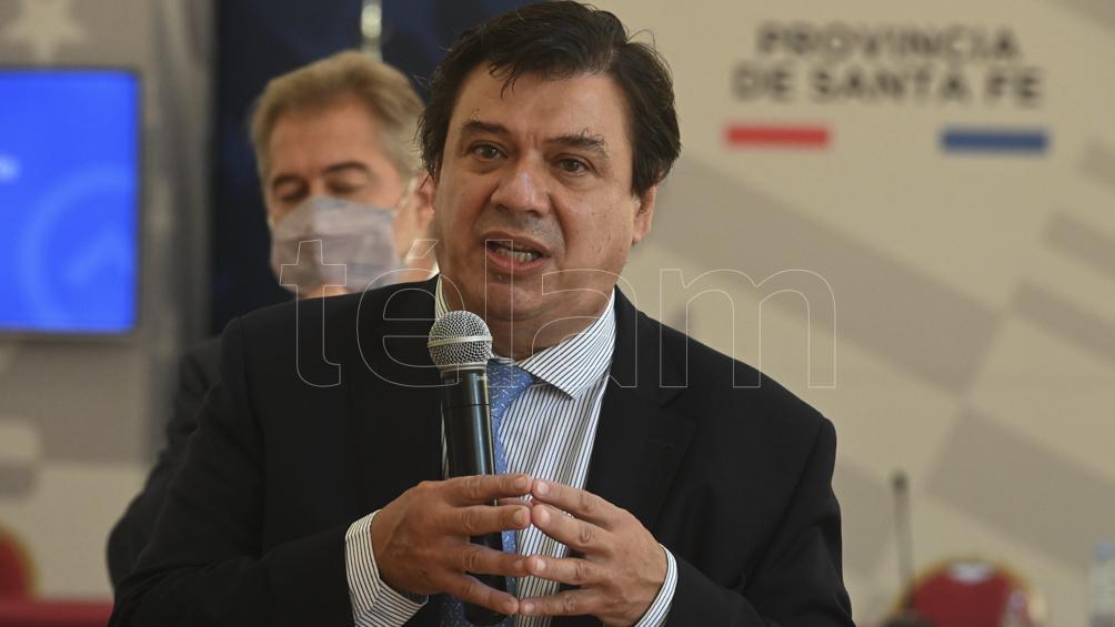 Moroni participó de la presentación del Reporte de Economía y Desarrollo (RED) 2020 de CAF (Banco de Desarrollo de América Latina).
