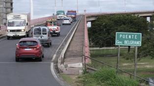 Liberaron el tránsito en el puente Chaco-Corrientes, tras un año de restricciones