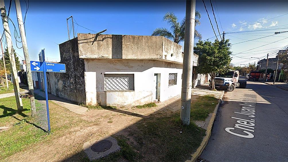 La detención se realizó Peribebuy y Lezica, en el barrio San Alberto de La Matanza.