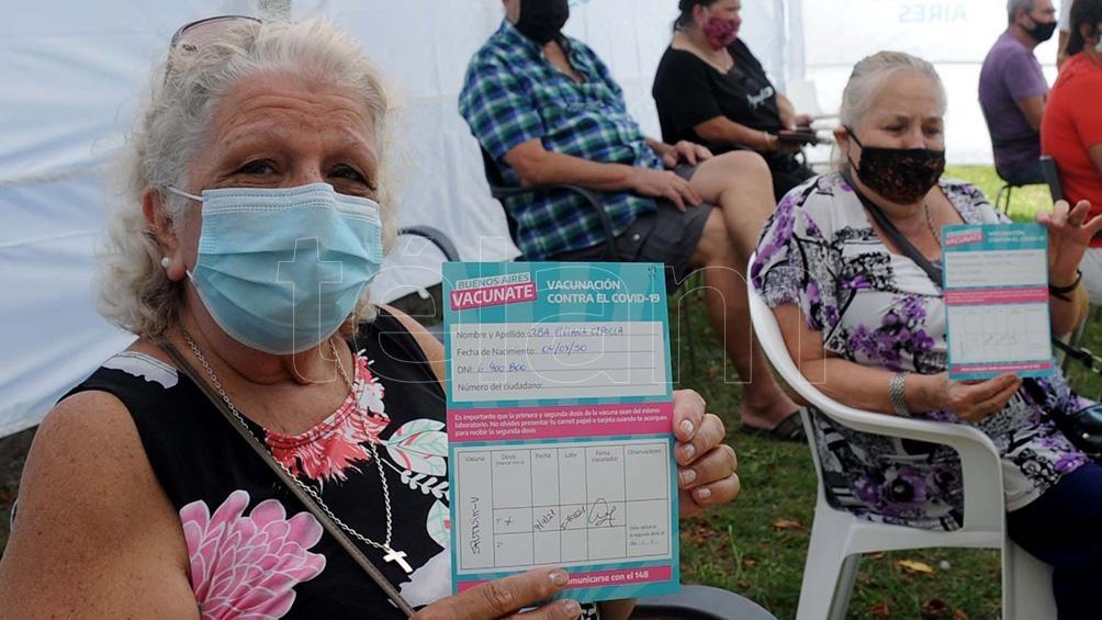 Según el Monitor Público de Vacunación, en total, 4.771.214 personas recibieron vacunas.