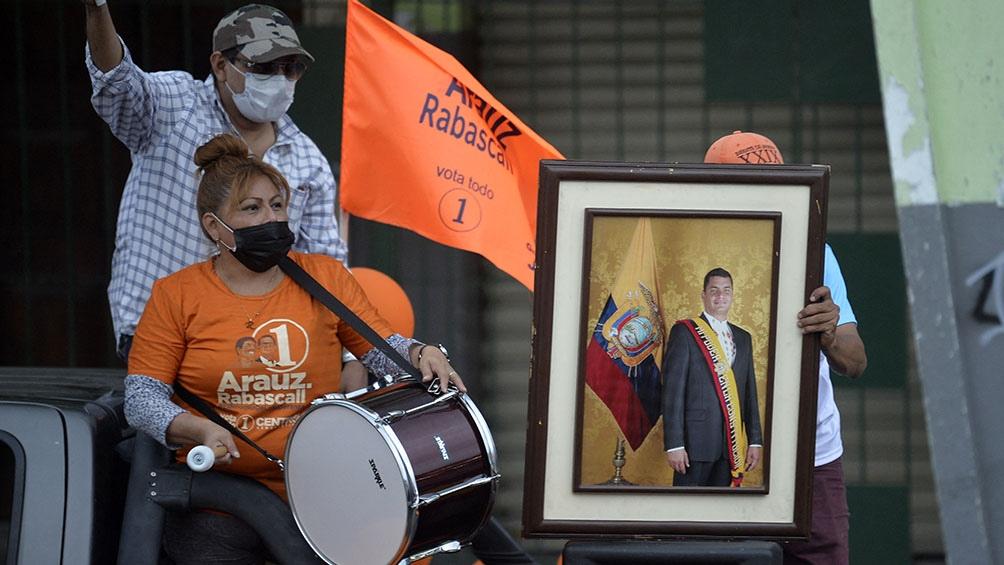 Elecciones en Ecuador. (Foto AFP)