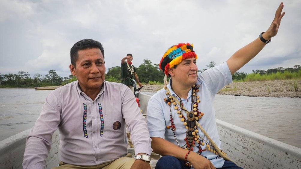 Arauz visitó a pescadores artesanales