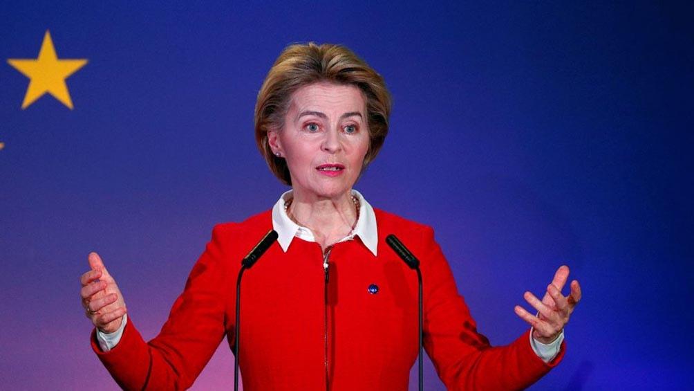"""""""La UE seguirá siendo creativa y flexible dentro del protocolo. Pero no renegociaremos"""", recalcó la propia Von der Leyen"""