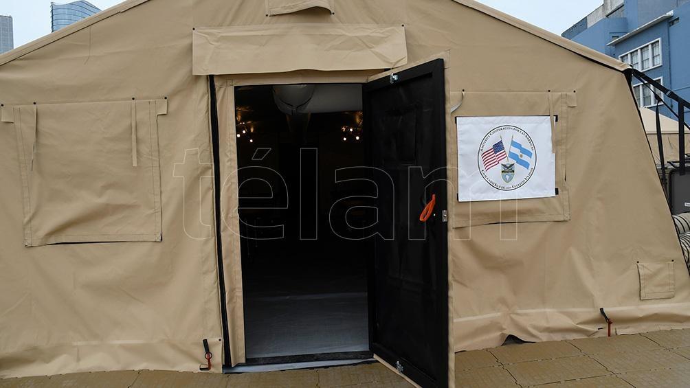 El equipamiento donado por Estados Unidos alcanza un importe de 3,5 millones de pesos