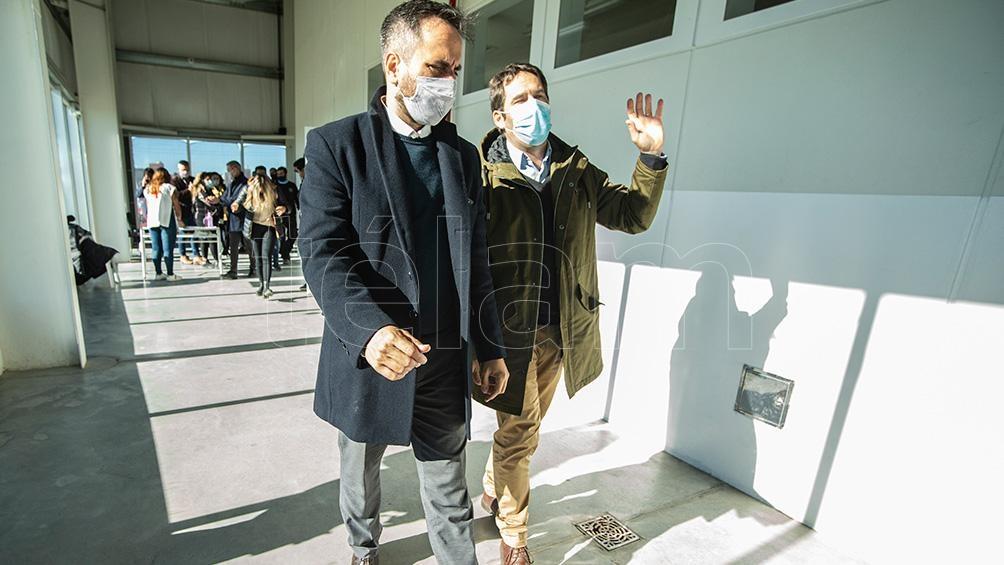 En menos de un mes transcurrido, Cabandié visitó Chubut por segunda vez.