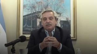 El Presidente pidió renegociar tasas y plazos por la deuda con el FMI