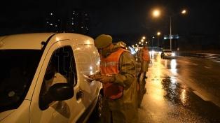 Operativos de las fuerzas federales en los accesos a la Ciudad de Buenos Aires