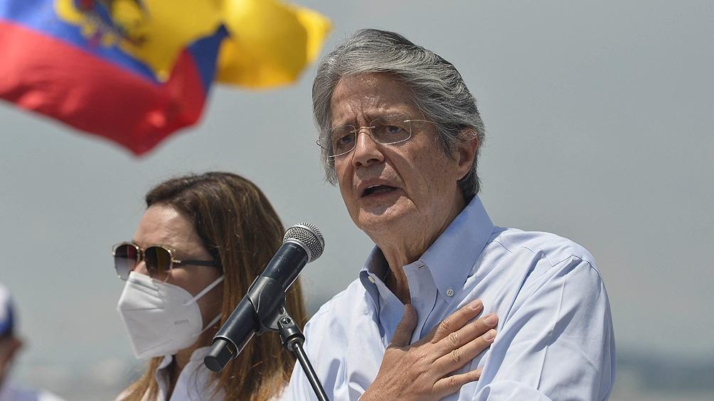 Con el 52,5 % de los votos en el balotaje, Guillermo Lasso ganó la presidencia de Ecuador