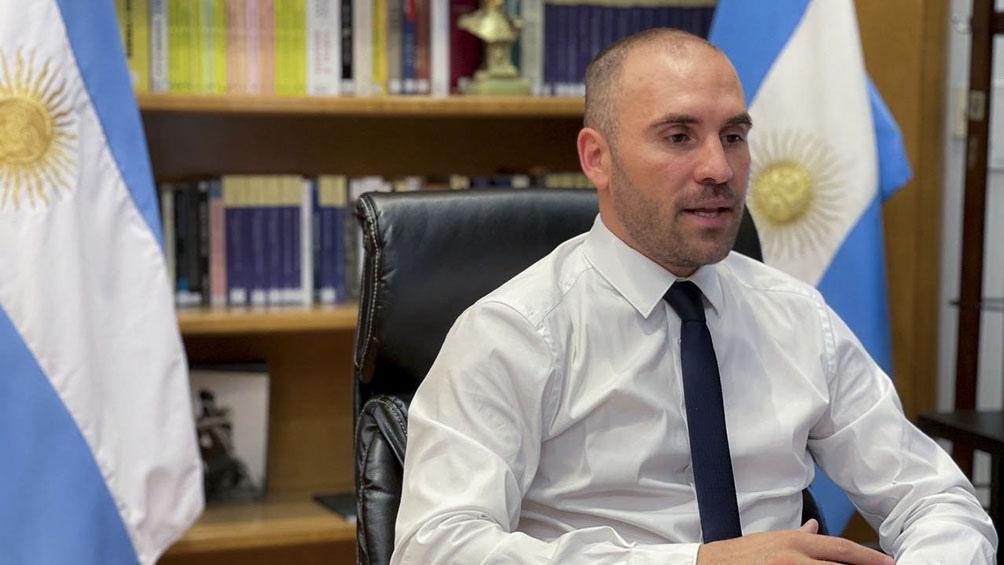 El ministro de Economía, Martín Guzmán, cerrará el lunes su gira europea en Moscú