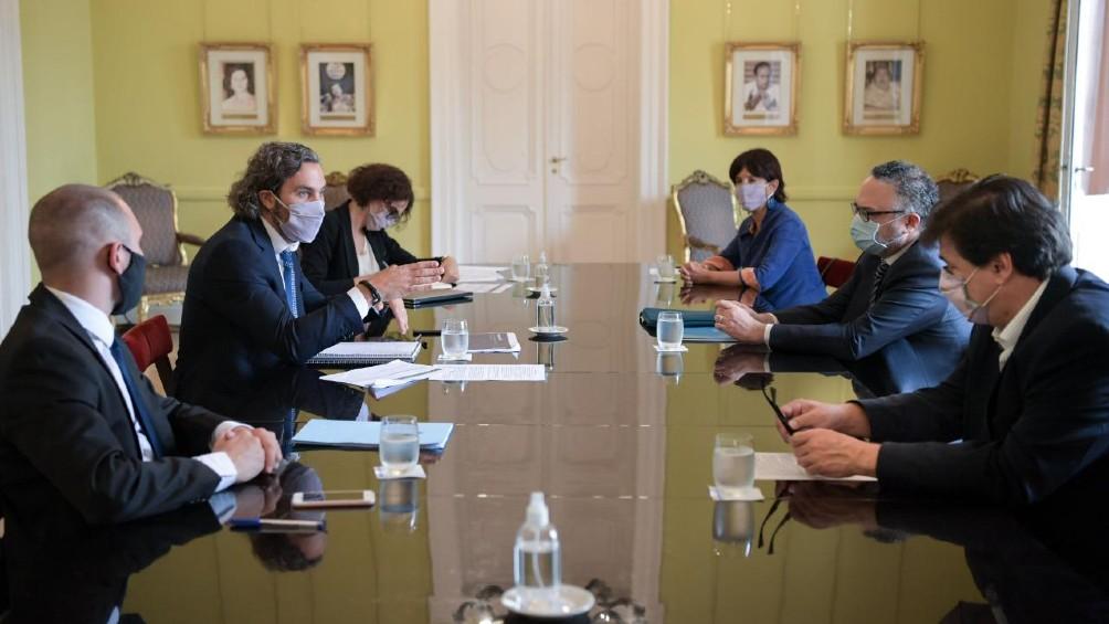 Nueva reunión del gabinete económico en la Casa Rosada