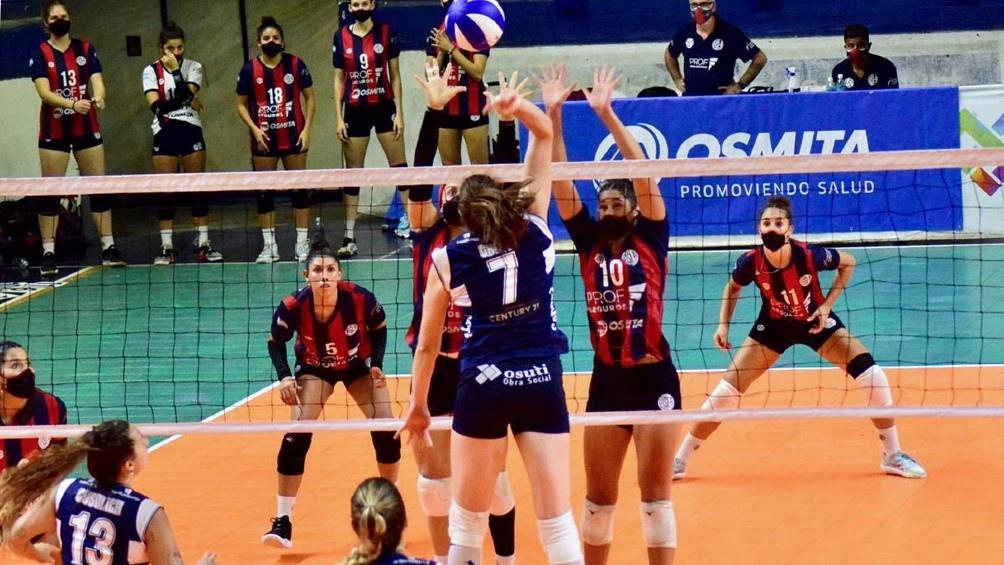 Las Matadoras se quedaron con el partido de ida. (Foto: Prensa de la Liga).