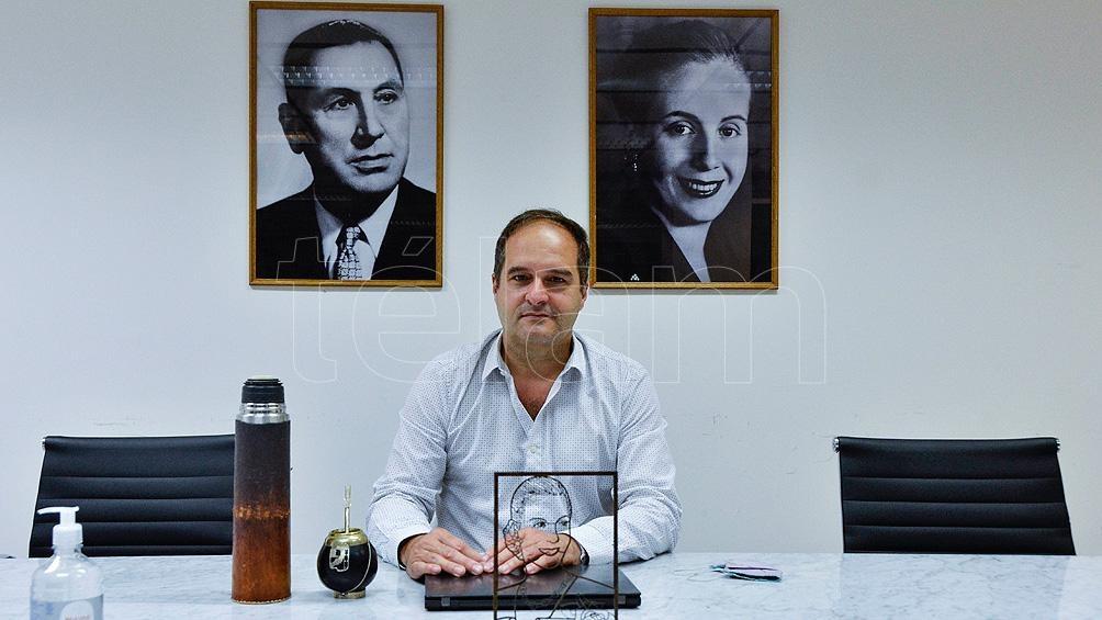 Secretario de Hábitat, Santiago Maggiotti.