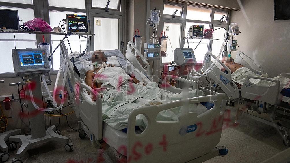La ocupación promedio de camas de terapia en AMBA es del 69,2% en la actualidad.