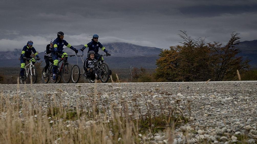 El nuevo desafío es realizar junto a su equipo una travesía por El Calafate y el Perito Moreno en noviembre próximo.