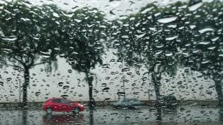Martes con tormentas, lluvias y una máxima de 17 grados en CABA y alrededores