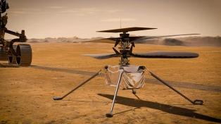La Nasa retrasará el primer vuelo en Marte de su mini helicóptero