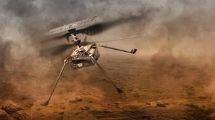 La NASA prepara al Ingenuity para su primer vuelo en Marte