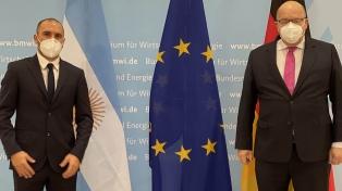 Guzmán habló sobre FMI y Club de París con el principal asesor económico de Angela Merkel