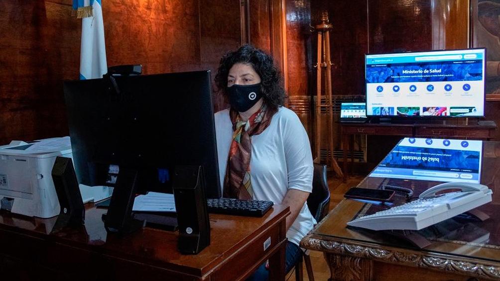 La ministra Vizzotti lideró el encuentro de la Mesa de Coordinación del AMBA.