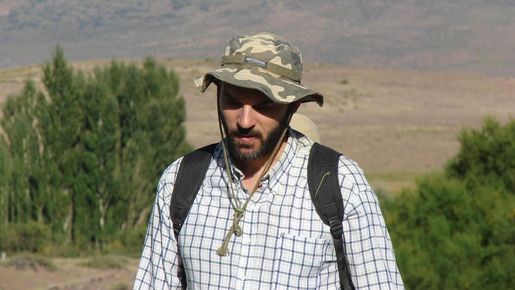 El investigador Iván Pérez del Coniicet