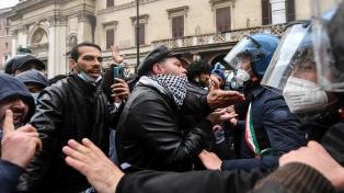 """El Gobierno italiano admitió preocupación por la posible presencia de """"extremistas"""""""