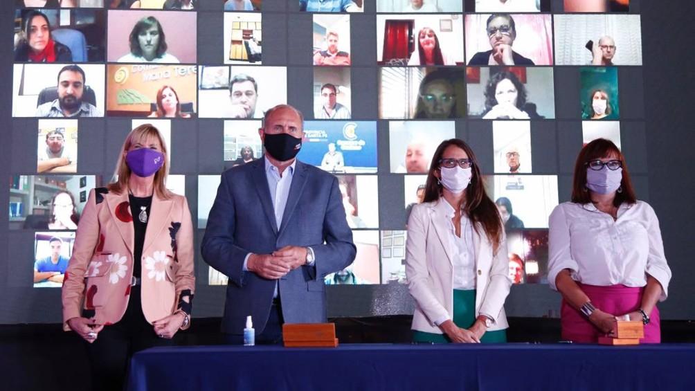 Perotti anunció la creación del Ministerio de Igualdad y Género en Santa Fe